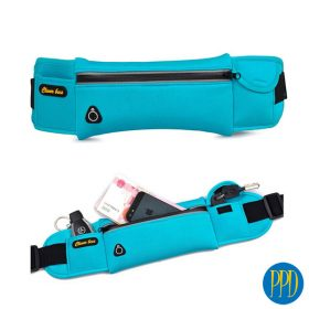 Neoprene travel wallet and fanny pack